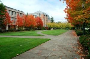 College Campus Paths